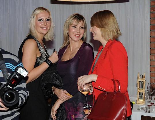 Kristýna si na Valentýna užívala dámskou jízdu s kamarádkami.