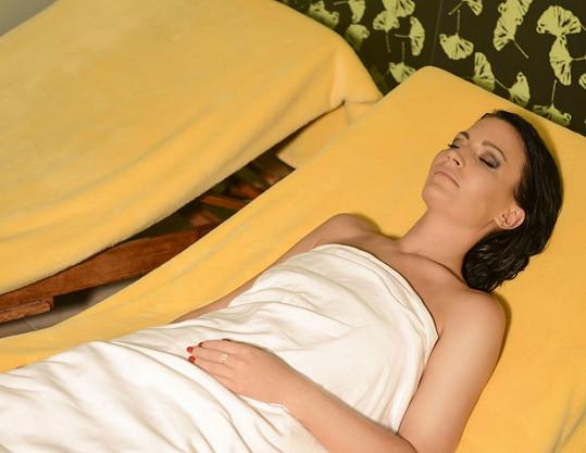 Na horách Gábina prý dohnala i spánkový deficit...