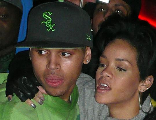 Chris Brown s bývalou partnerkou Rihannou