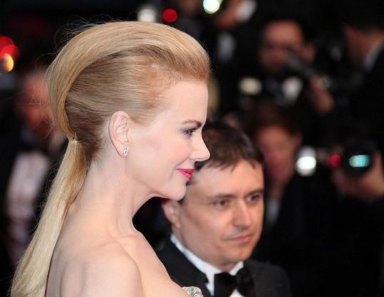 Nicole Kidman na filmovém festivalu v Cannes.