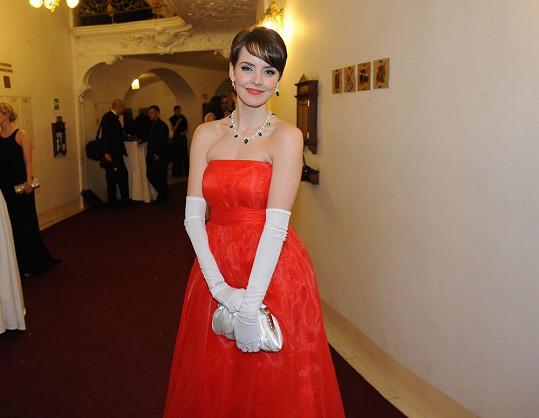 Gabriela Kratochvílová zvolila šperky české firmy, která navrhuje i korunky pro královny krásy.