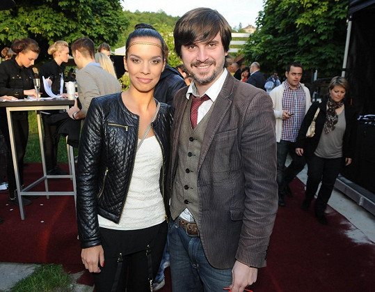 Radka Pavlovčinová s přítelem Michaelem randí pár týdnů.