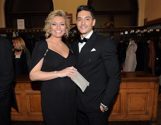 Borhyová čeká dítě s Michalem Hrdličkou.