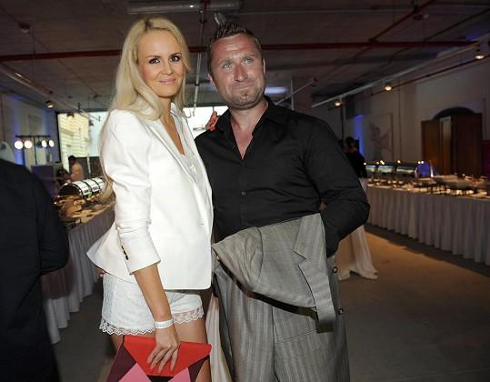 Lucie s manželem Jardou Bednářem