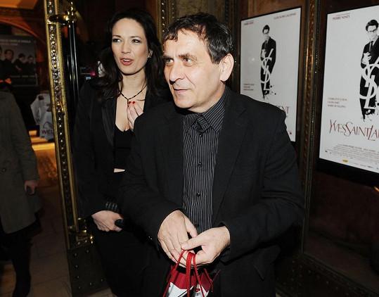 Tereza s manželem na premiéře filmu YSL