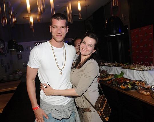 Majk Spirit s kolegyní Martou Jandovou