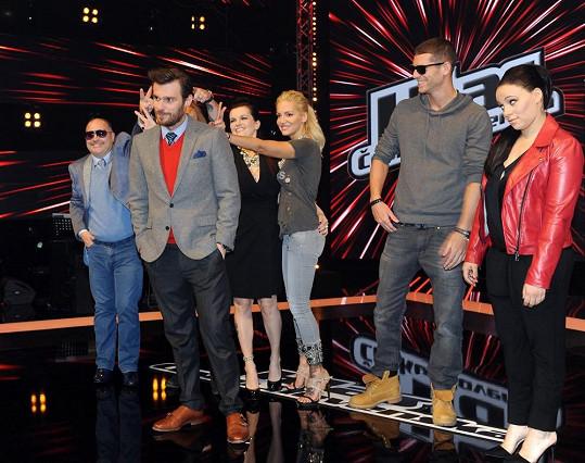 Michal David se s kolegy při focení pořádně rozdivočel.