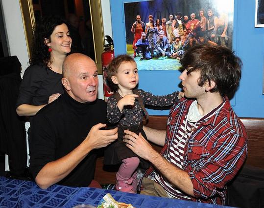 Malé Rebece se moc líbil Roman Tomeš.