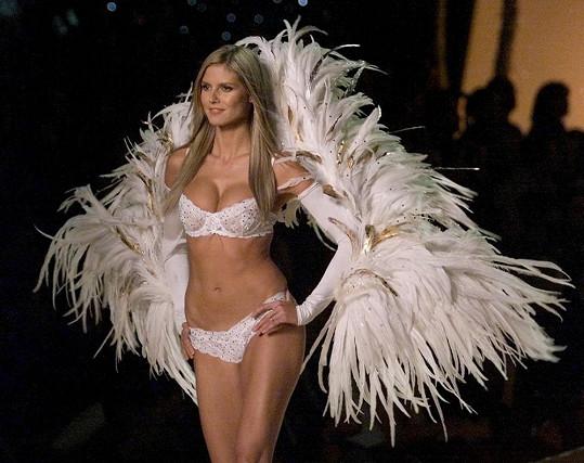 Klum byla řadu let andílkem Victoria's Secret.