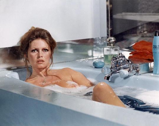 Brigitte Bardot v roce 1973.