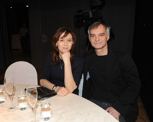 Ivan Trojan s manželkou.