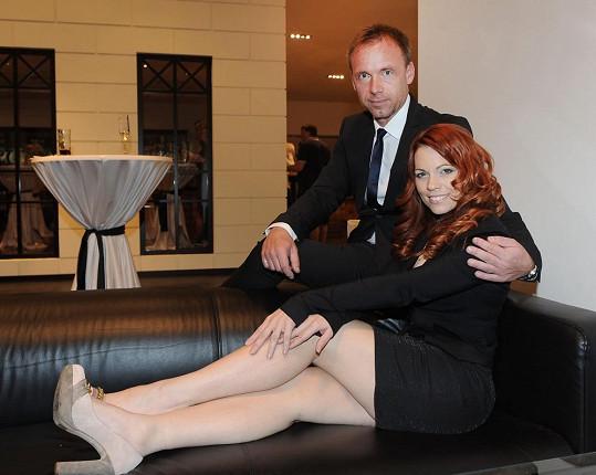 Míša Nosková se Zdeňkem Style Hrubým, který na akci také zpíval.