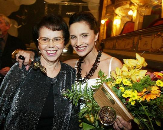 Paní Zaňáková prožívala všechny úspěchy své dcery.