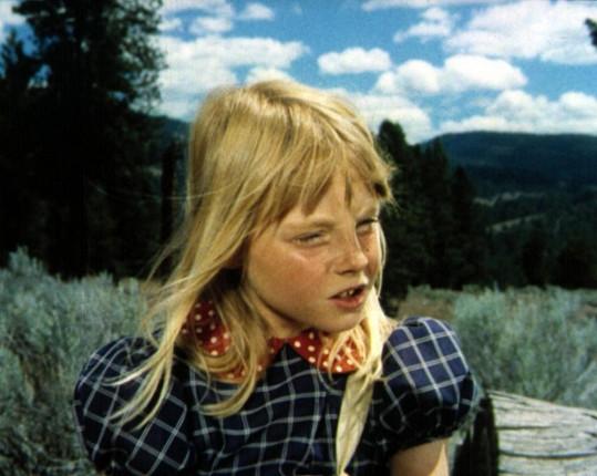 Jodie Foster ve filmu Napoleon a Samantha z roku 1972