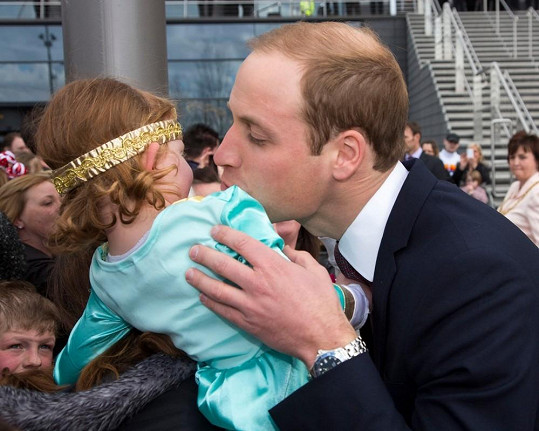 William dostal od čtyřleté Skotky košem.