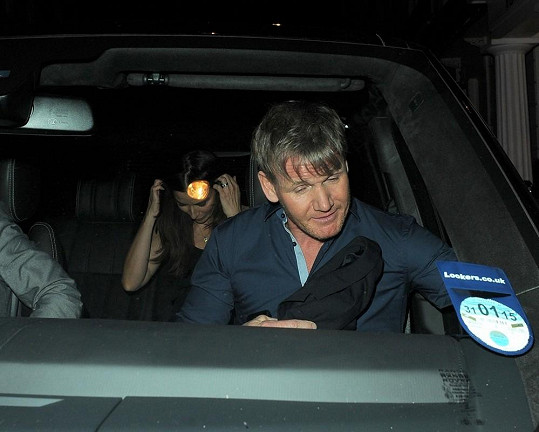 Gordon Ramsay s manželkou za zády