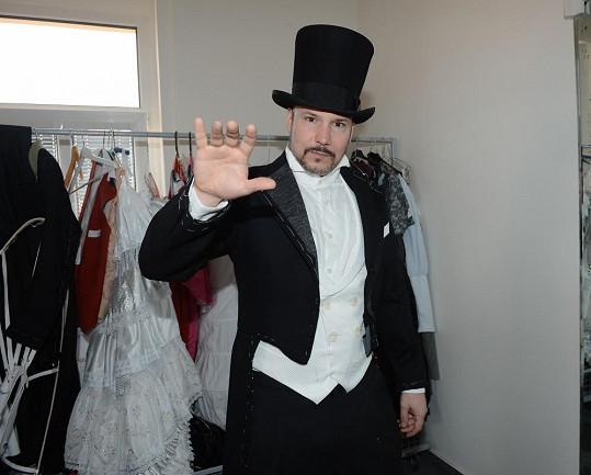 Bohuš Matuš v kostýmu Raoula