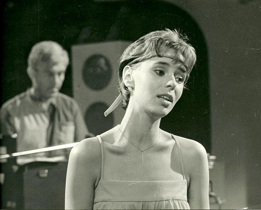 Heidi v dobách, kdy začínala svou kariéru.