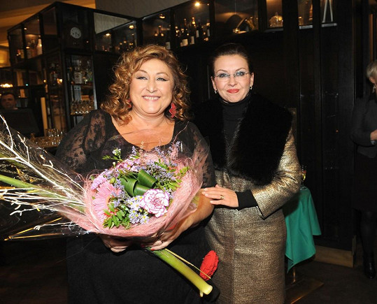 Dana Morávková vzala syna na křest knihy Haliny Pawlowské.