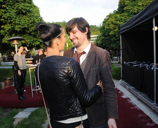 Radka Pavlovčinová s přítelem Michaelem, který je její novou známostí.