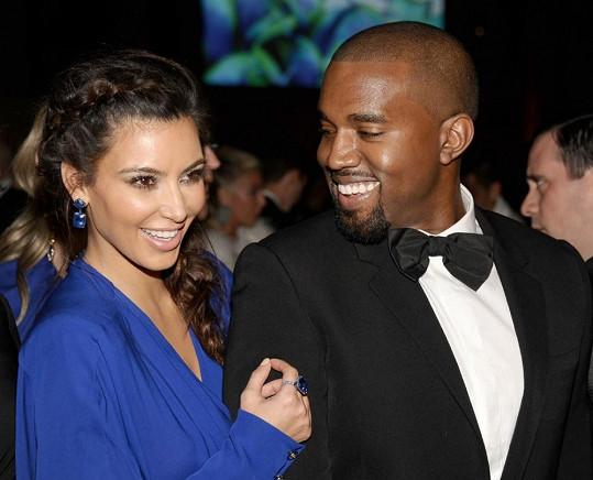 5. Kim Kardashian a Kanye West