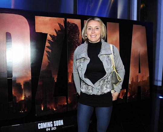 Roman Šebrle nechal jít manželku do kina samotnou.