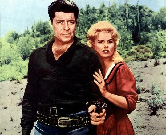 Dale Robertson byl hrdinou mnoha westernů.