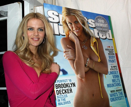 Topmodelka a herečka Brooklyn Decker je manželkou Andyho Roddicka.