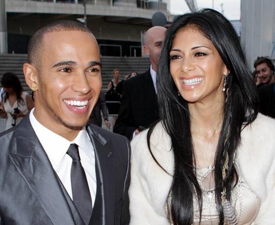 Nicole a Lewis byli okouzlujícím párem.