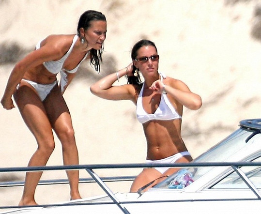 Kate a Pippa Middleton