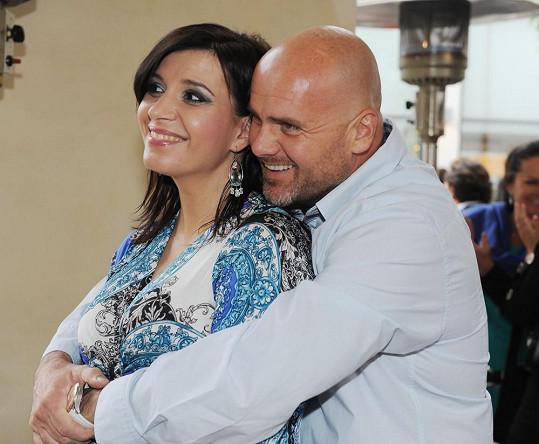Andrea s budoucím manželem Radkem