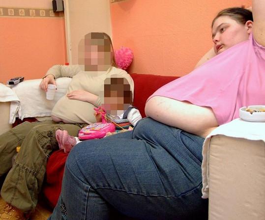 Beth se v mládí projedla až na 171 kilogramů.