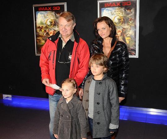 Adamcovi chodí do kina velmi často a nikdy si nenechají ujít premiéry v Imaxu.