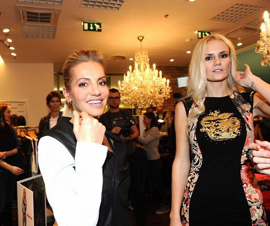 Lucie Hadašová a Dara Rolins se sešly na jedné párty.