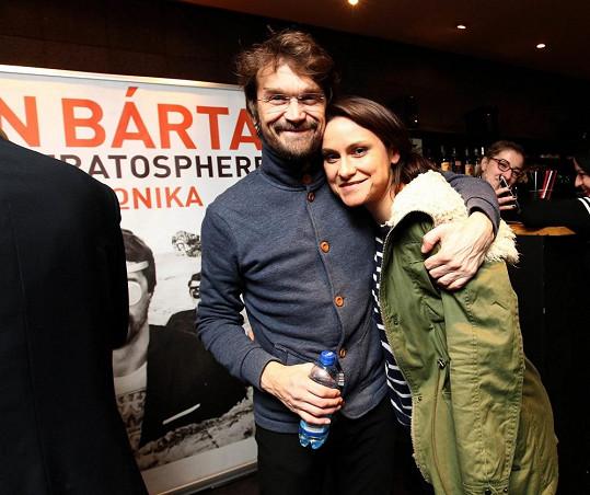 Dan Bárta s kamarádku Lenkou Dusilovou