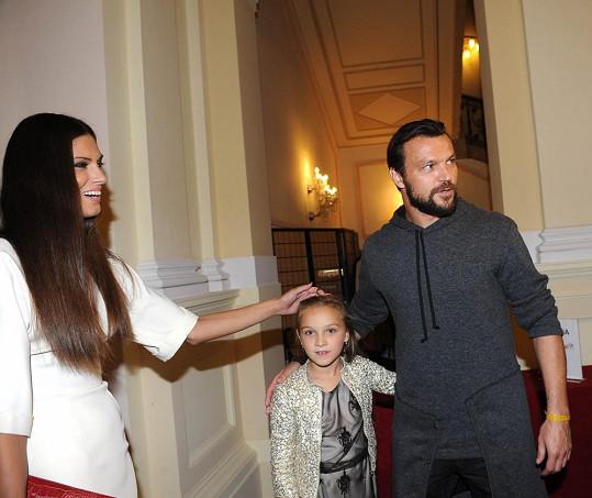 Aneta byla ráda, že po dlouhé době viděla Tomášovu dceru.