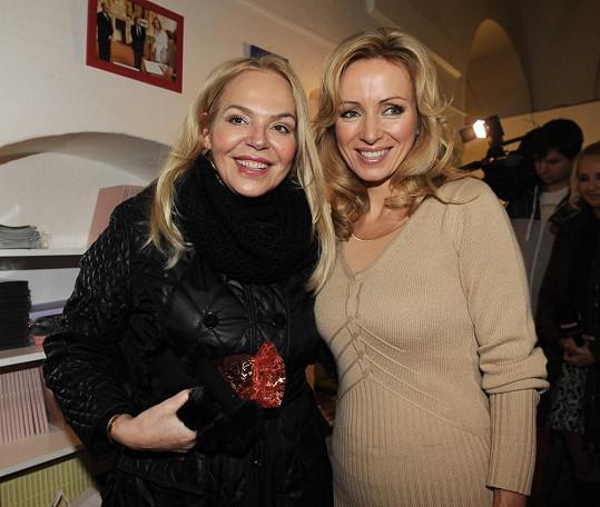 Kateřina Brožová s Dagmar Havlovou