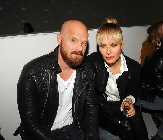 Simona s manželem