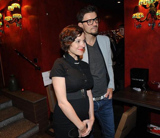 Kristýna s přítelem Michalem Škrabákem