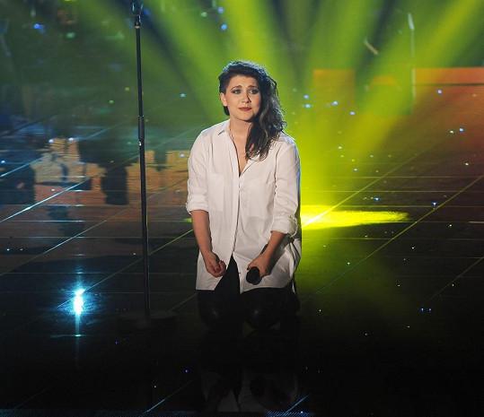 Vendula Příhodová je horkou favoritkou na vítězku Hlasu.