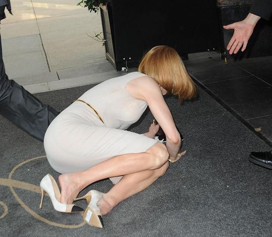 Nicole Kidman neustála náraz.