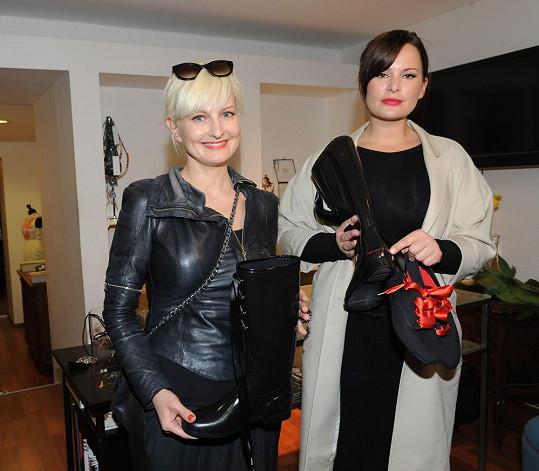 S Bárou jsme si povídali na představení bot, které sama navrhla. Tvář kampani propůjčila její kamarádka Jitka Čvančarová.