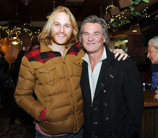 Wyatt Russell se svým otcem Kurtem
