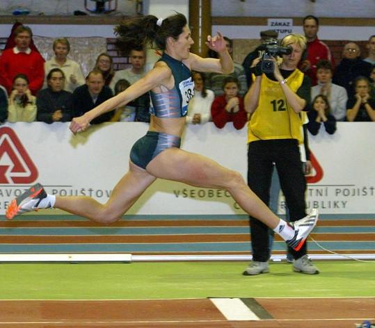 Kašpárková získala bronz na olympiádě v Atlantě.