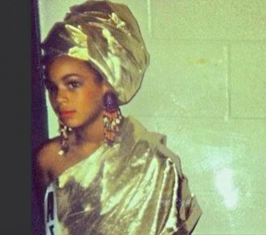 Beyoncé na fotce z dětství