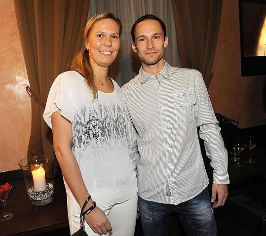 Lucie Hradecká s přítelem Dušanem chodí rok.