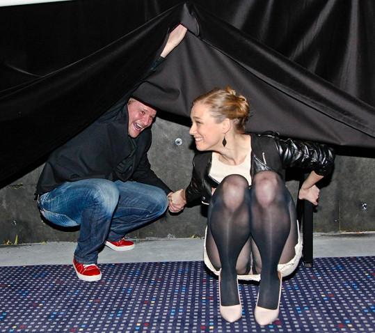 Kristýna Boková ukázala kalhotky na premiéře filmu Martin a Venuše.