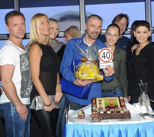 Tomáš oslavil 40. narozeniny.