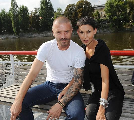 Tomáš Řepka a Vlaďka Erbová
