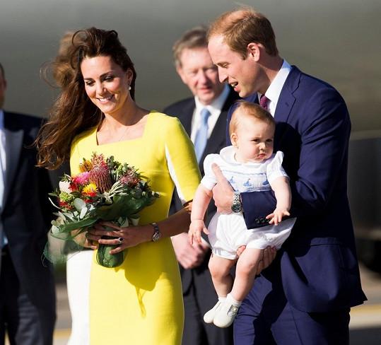 Královská návštěva z Anglie pobude v Austrálii deset dní.